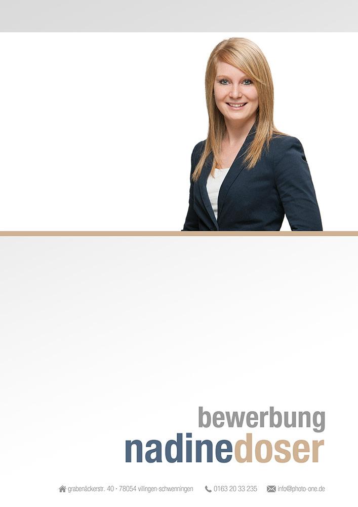 Komplette Bewerbung Mit Deckblatt Und Word Datei | Photo One